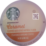 Starbucks Caramel Flavored Medium Roast Coffee K-Cup