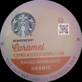 Starbucks Caramel Flavored Medium Roast Coffee K-Cup